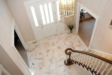 2 story entry foyer